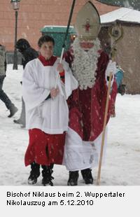 Bischof Nikolaus in Wuppertal