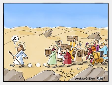 Der Auftrag der 12 Apostel - Material schleppen