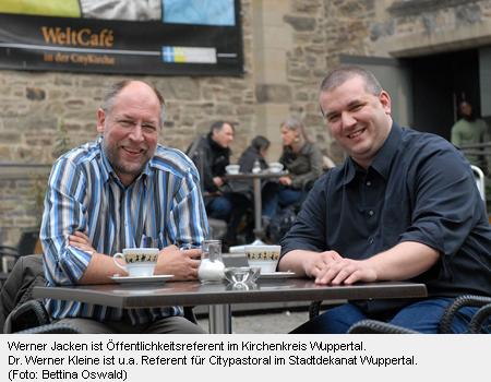 Werner Jacken und Dr. Werner Kleine
