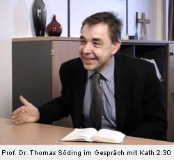 Professor Doktor Thomas Söding im Gespräch mit Kath 2:30