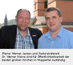 Werner Jacken und Doktor Werner Kleine